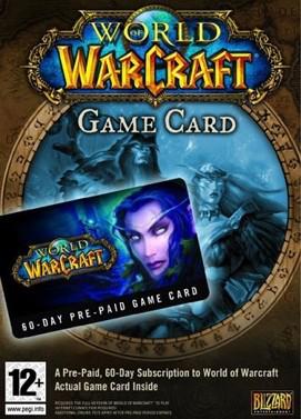 Carte Prépayée World of Warcraft 60 Jours  (CD Key Battle.net) (dématérialisé)