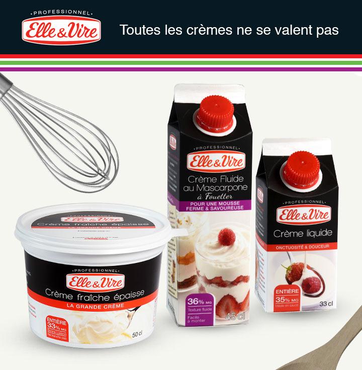 [A partir du 11/04] Crème liquide Elle & Vire 35% de MG via shopmium et BDR