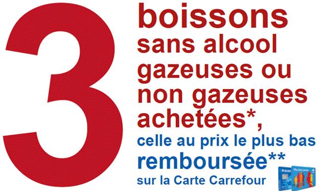[05/04] Promotion sur les boissons - Ex: 4 bouteilles Coca Cola Cherry ou Vanille 1,25L (avec carte fidélité)