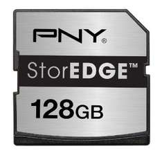 Carte mémoire PNY StorEDGE 128 Go pour Macbook / Port et taxes inclus