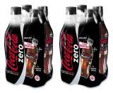 2 packs de 4 bouteilles de 50 cl de Coca Cola Regular ou Zero