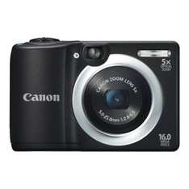 Appareil photo Canon Powershot A1400 - 16 Mpix - noir