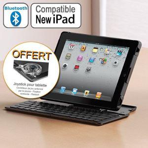 Clavier + support pour iPad 2 Logitech Fold-Up Key + Joystick pour tablette offert