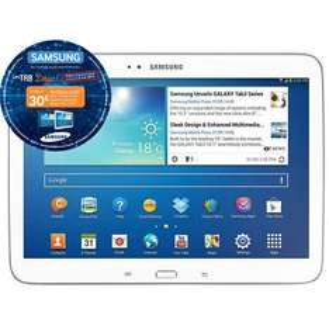Tablette Samsung Galaxy TAB3 10.1' 16Go (74.25€ sur carte Waooh et ODR 30€)