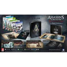 Assassin's Creed 4 Black Flag Edition Collector Skull Xbox One et PS4