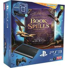 Console PS3 Ultra Slim 12 Go + Wonderbook Book of Spells + Pack Découverte Move