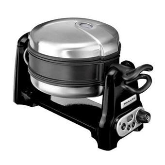 Gaufrier KitchenAid Artisan 5KWB100EOB - Noir Onyx ou gris métalisé