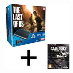 Console Sony PS3 500 Go The last of Us + Call Of Duty Ghosts