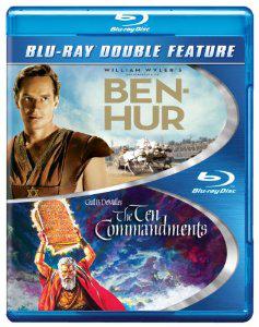 Ben-Hur / Les dix commandement en blu-ray