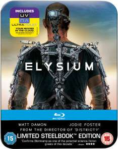 Blu-ray Elysium Steelbook Édition Limitée