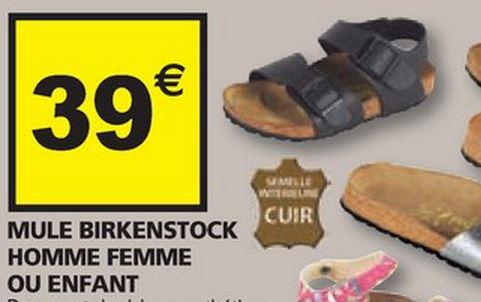 Mules Birkenstock Adultes/enfants (24 au 45)