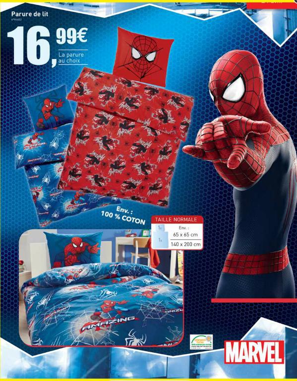 [A partir du 23/04] Parure de lit Spiderman