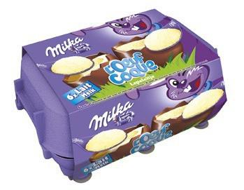 6 œufs coque Milka