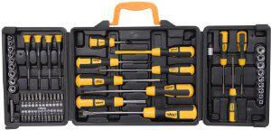Mallette de tournevis Rolson Tools 60 pièces