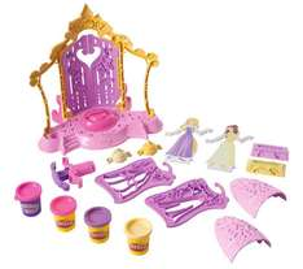 2 jouets Play-doh Pate à modeler La boutique de mode des princesses