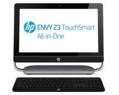 """PC All-in-one HP 23-d000ef AiO Envy - Ecran LED 23"""" Tactile, i3, 500Go"""