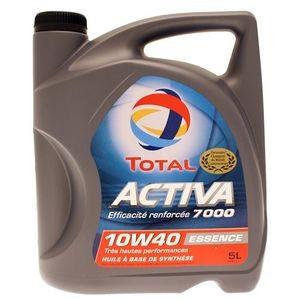 5€ de réduction immmédiate sur un bidon 5L de lubrifiant automobile Total Activa