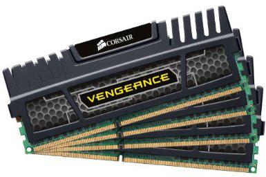 Mémoire Corsair Vengeance 32 Go (4 x 8 Go) DDR3 - 2133 MHz / PC3-17066 - CL10 - 1.5 V - Non ECC
