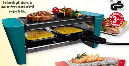 Mini-Raclette - Grill et/ou Pierrade