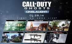 DLC Call Of Duty Onslaught gratuit ce week-end sur PS3 et PS4