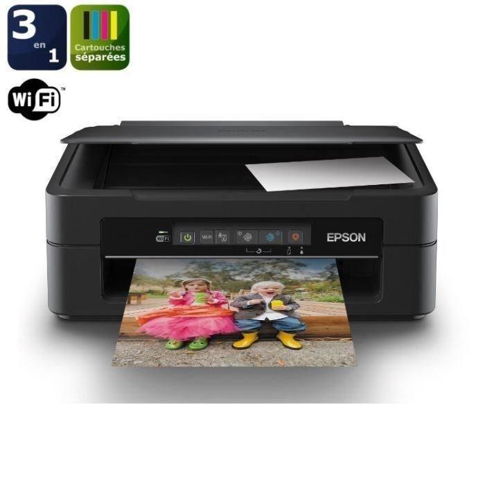 Imprimante Epson 3 en 1 WiFi XP-215 (Avec ODR de 10€) / 29.99€ via Buyster, sinon