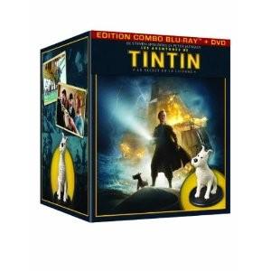 """Coffret collector édition limitée """"Les Aventures de Tintin: Le Secret de la Licorne"""""""