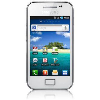 "Smartphone 3,5"" Samsung Galaxy Ace Blanc"