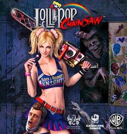 Lollipop Chainsaw sur PS3 et Xbox 360