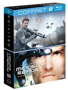 Coffret 2 Blu-ray : Oblivion + Minority Report