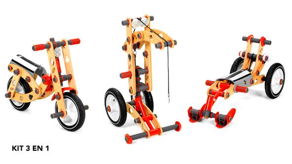 Berg, jeux de construction en bois de plein air pour enfants