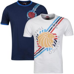 Lot de 2 T-shirts Catskill (Taille M uniquement)