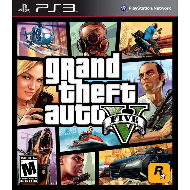 Jeu PS3 : Grand Theft Auto V