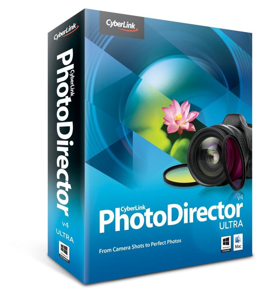 Logiciel CyberLink PhotoDirector 4 gratuit
