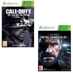 Pack Call Of Duty Ghosts + Metal Gear Solid V sur Xbox360
