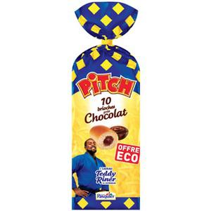 3 paquets de brioches Pitch Pasquier - Chocolat, chocolat au lait ou fraise
