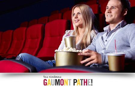Place de cinéma Gaumont et Pathé, valable du 26.06 au 15.07