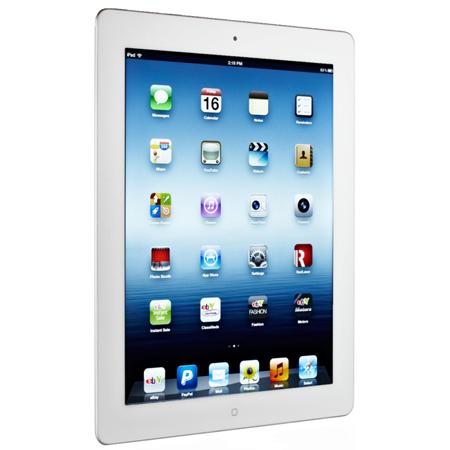 Tablette Apple iPad 4 Retina 16 Go WiFi Blanc