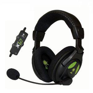 Casque micro Ear Force X12 Turtle Beach pour PC et Xbox 360