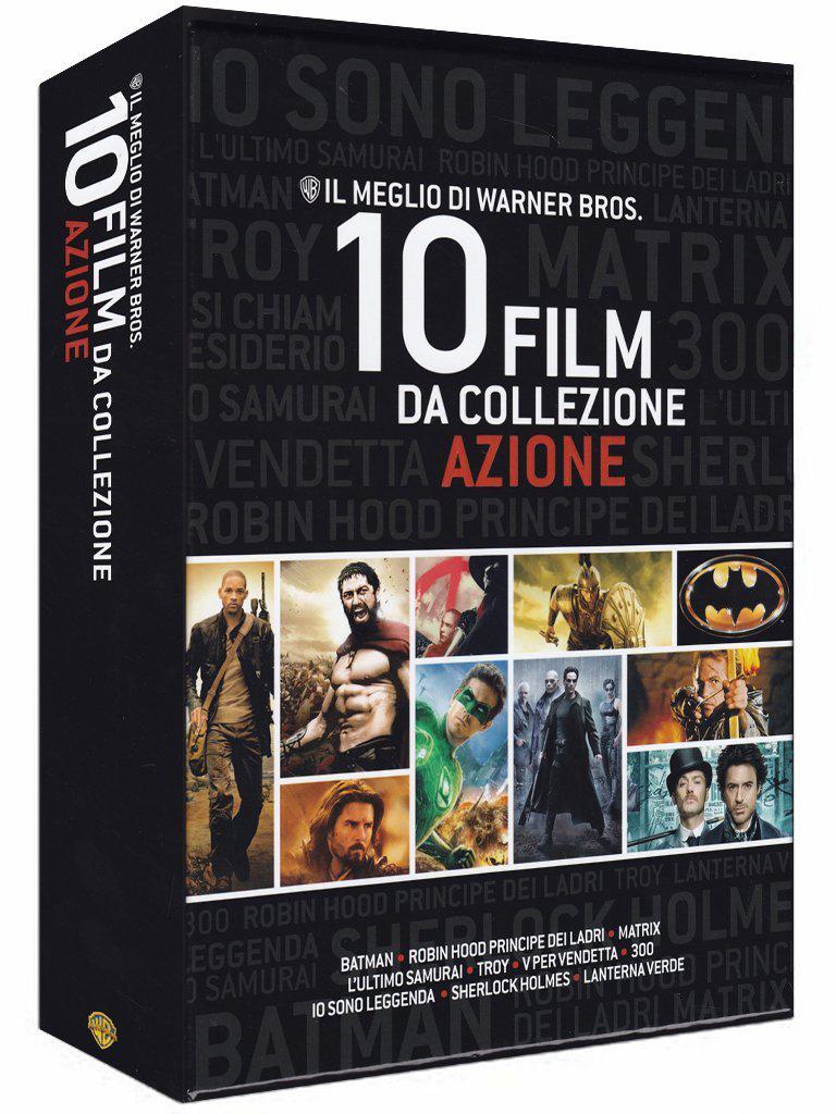 Coffret Blu-ray 10 films d'action de la Warner