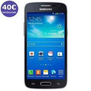 "Smartphone 4,5"" Samsung Galaxy Core 4G (avec ODR de 40€) + 3 bons d'achat de 17€"