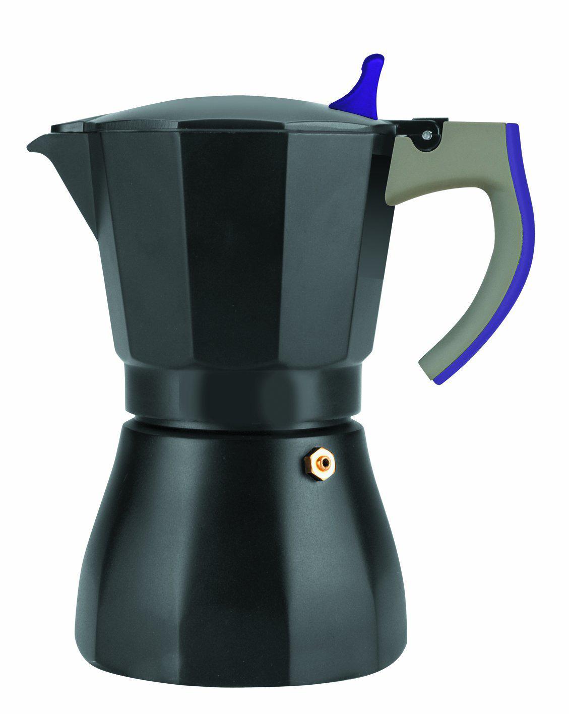 Cafetière Ibili  Porpora Espresso 3 Tasses Aluminium
