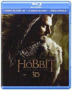Blu-ray Le Hobbit la Désolation de Smaug – 2 Blu-Ray 3D + 2 Blu-Ray + Copie Digitale