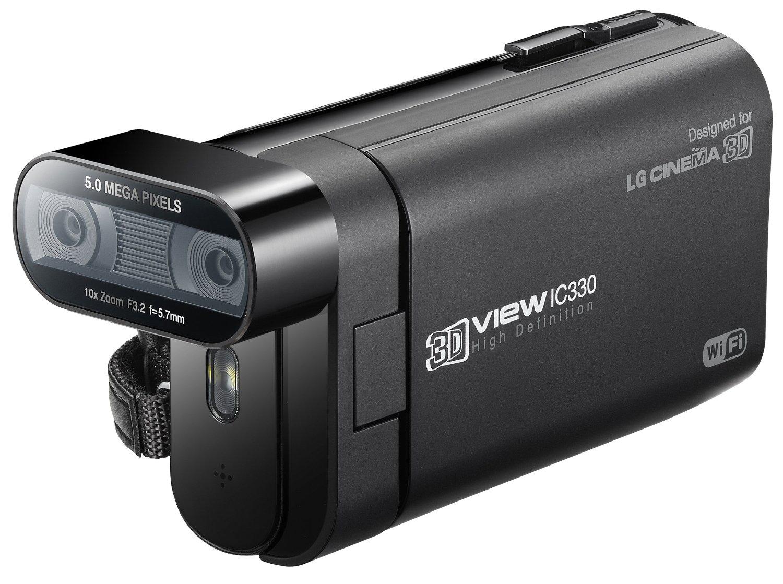 Camescope 3D LG DXG IC330 - WiFi, Full HD