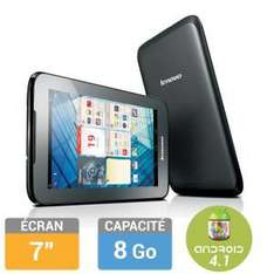 "Tablette 7"" Lenovo IdeaTab A1000L - 8Go (Avec ODR 30€)"