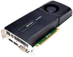 Carte graphique PNY Nvidia Quadro 5000 - PCI Express 2.0 x16 2.5 Go GDDR5