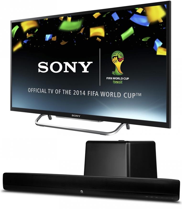 """TV 50"""" Sony KDL-50W829 Full HD 3D + Barre de son Boston Acoustics TVee Model 26"""