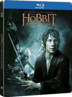 Coffret Blu-ray Le Hobbit : Un voyage inattendu Ultimate Edition - Blu-ray+ DVD + Copie digitale - SteelBook