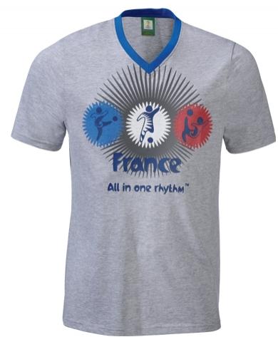 Tee-shirt homme France ou Brésil