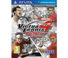 Virtua Tennis 4 sur PS Vita