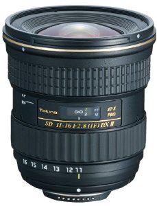 Objectif Tokina AT-X PRO DX II pour reflex Nikon 11 à 16 mm f 2.8 Noir